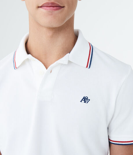 A87 Double-Tipped Pique Polo