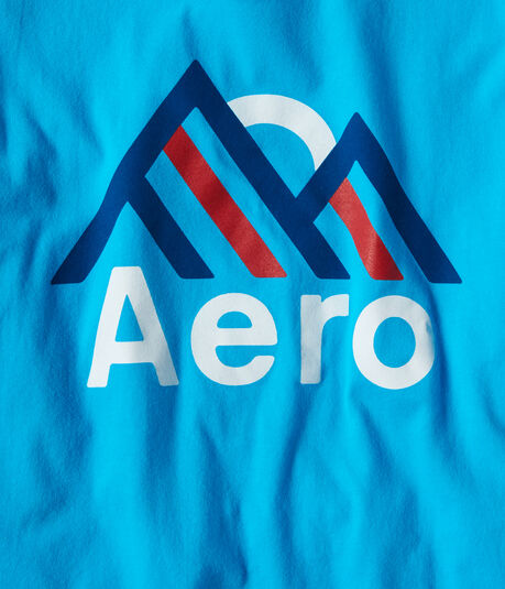 Aero Mountains Graphic Tee
