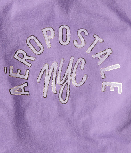Aeropostale NYC Foil Graphic Tee