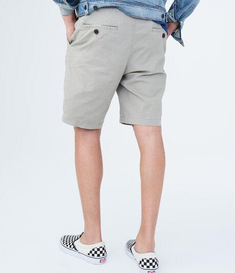 Solid Stretch Pull-On Shorts