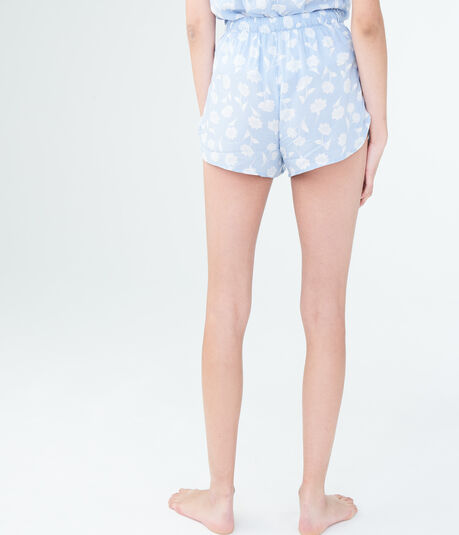 LLD Floral Wrap Sleep Shorts***