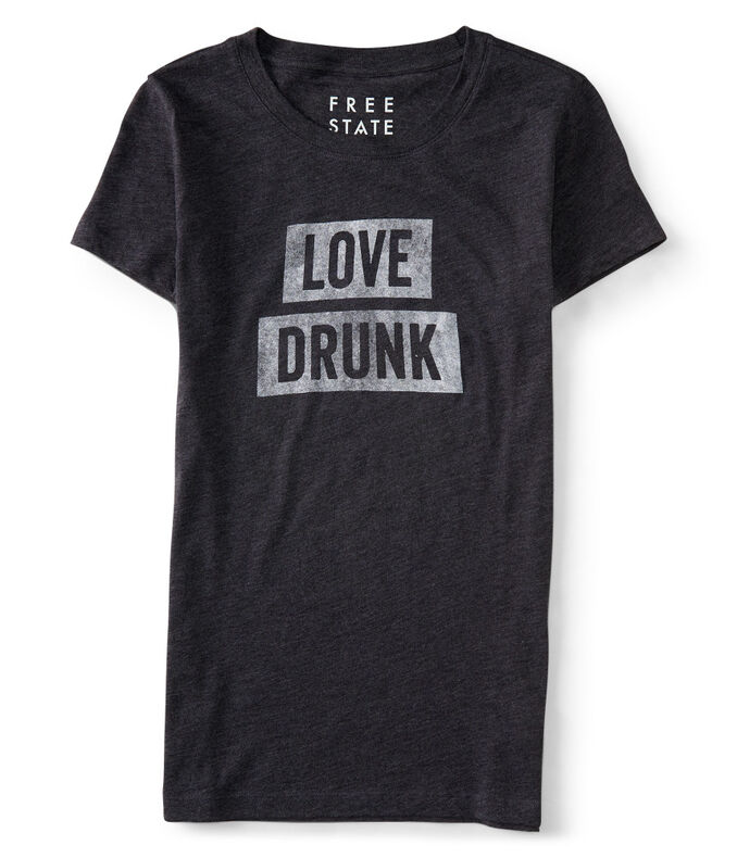 Free State Love Drunk Graphic T