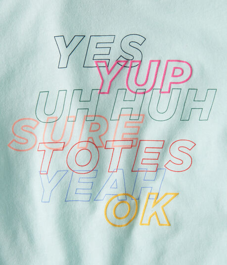 Free State Yes Yup Uh Huh Graphic Tee