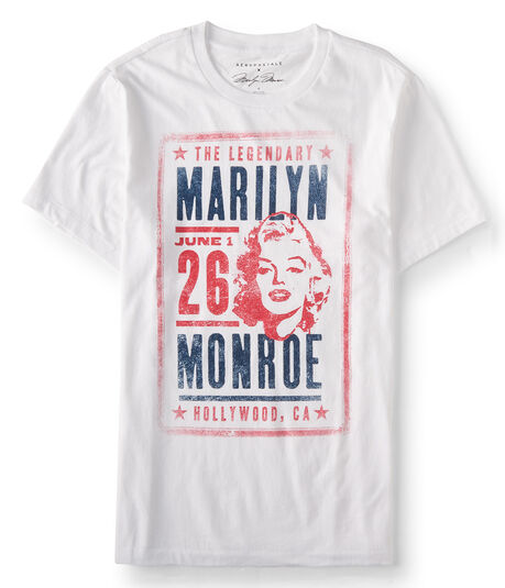 Guys' Marilyn Monroe Poster Graphic Tee