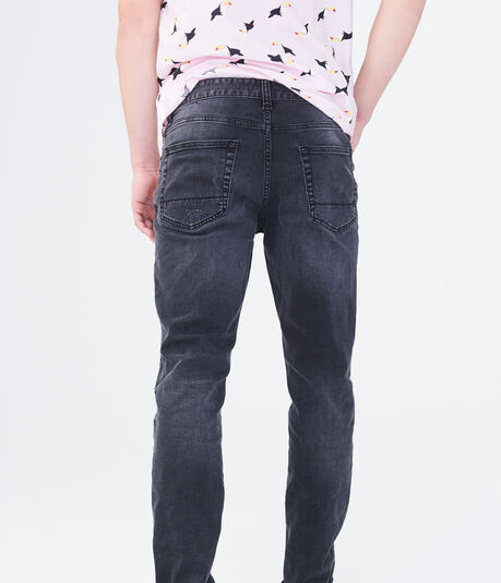 Final Sale - Skinny Black Wash Reflex Jean