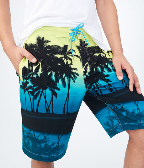 Sunset Palm Boardshorts
