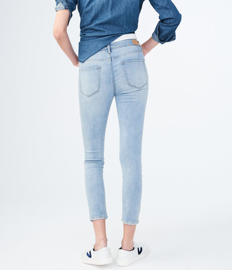 Seriously Stretchy High-Waisted Crop Jegging