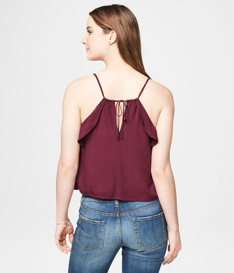 Solid Ruffle Cami