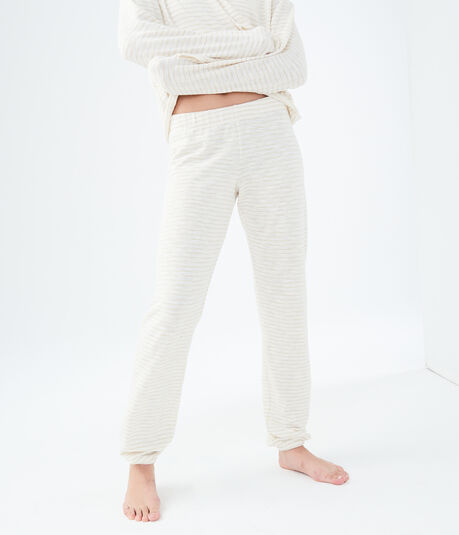 LLD Metallic Stripe Cinch Pants