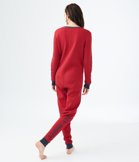 LLD All Day All Night One-Piece Pajamas