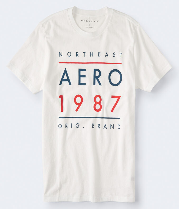 Northeast Aero 1987 Logo Graphic Tee