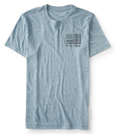 NYC - USA Flag Graphic T***
