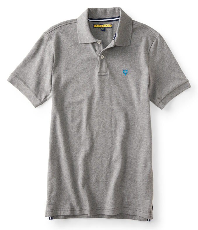 Final Sale - Solid A87NY Stretch Pique Polo