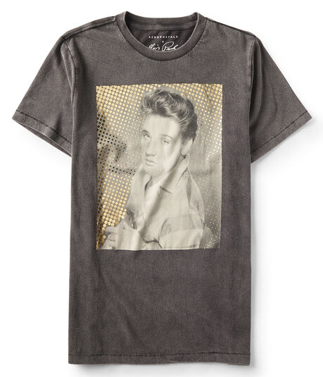Guys' Elvis Photo Graphic Tee