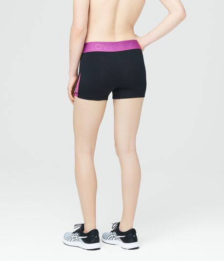 LLD Contrast Waist Volleyball Shorts