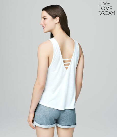 LLD Ladder-Front Strappy Tank