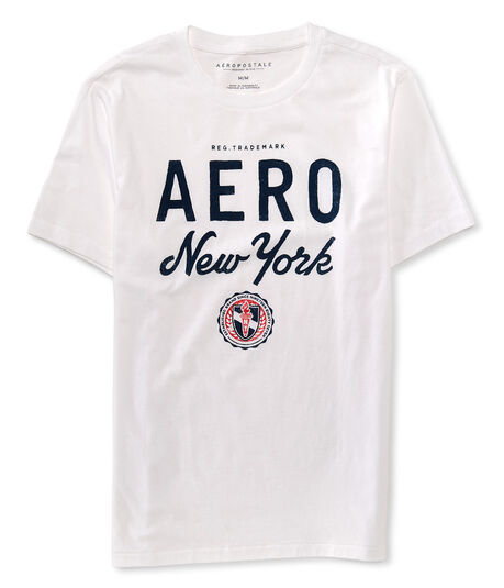 Aero New York Logo Graphic Tee***