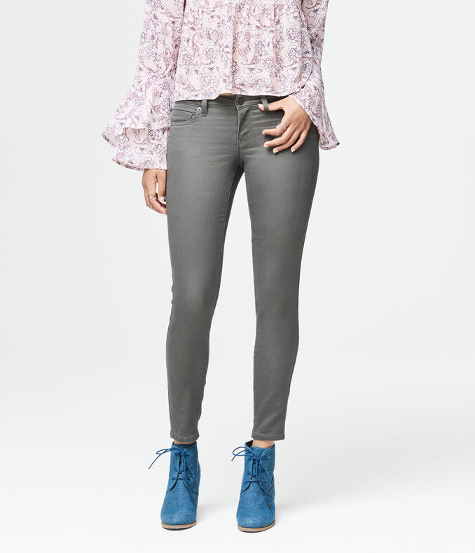 Final Sale -Seriously Stretchy Low-Rise Ankle Jegging