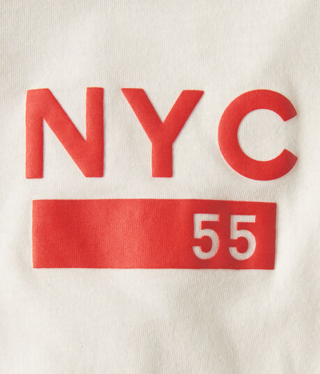 NYC 55 Skyline Graphic Tee***