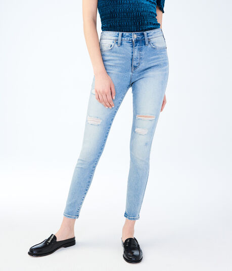 High-Waisted Seriously Sculpting Ankle Jegging