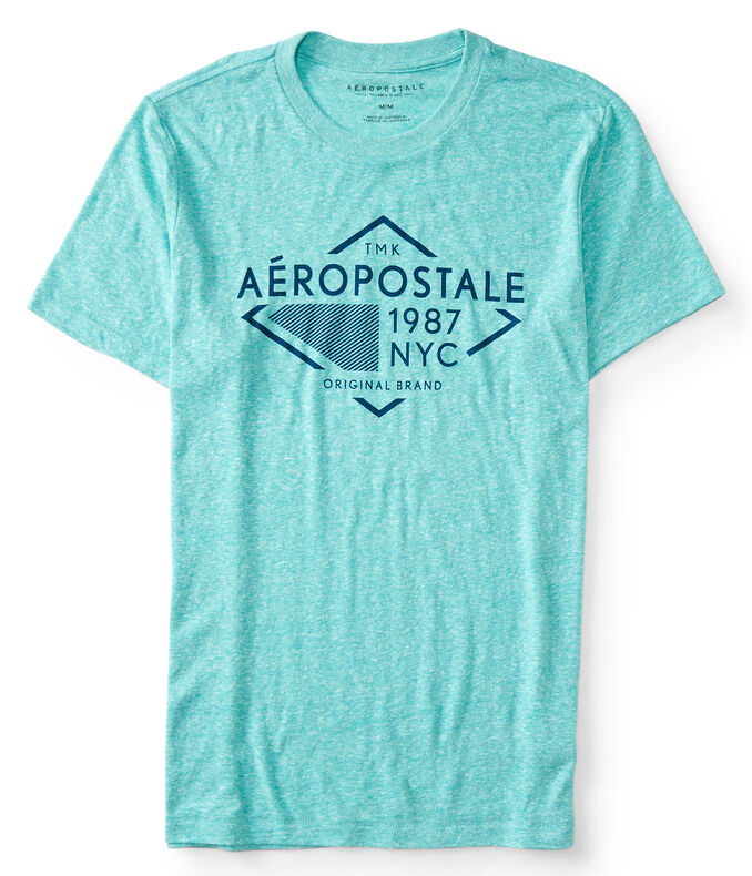 Aéropostale Diamond Logo Graphic Tee