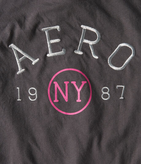 Metallic Aero Graphic Tee