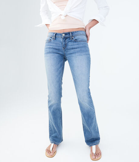 Bootcut Core Medium Wash Jean***