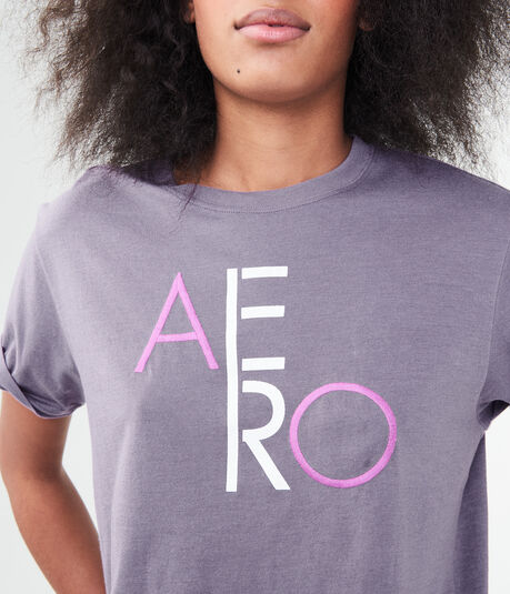Stacked Aero Graphic Boy Tee