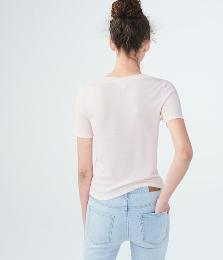 Solid Twist-Front Top