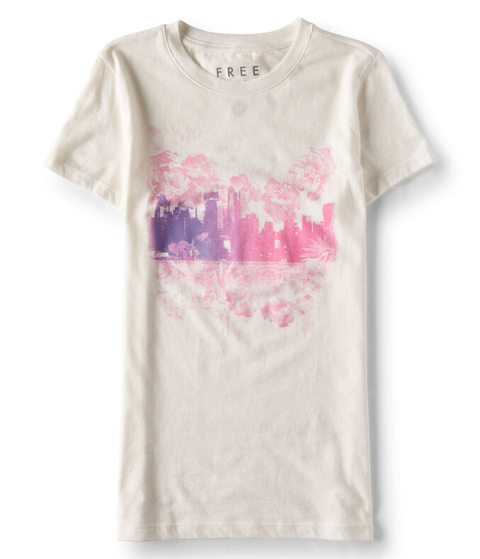 Free State Floral City Graphic Tee