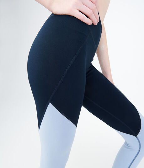 LLD Colorblocked Crop Leggings