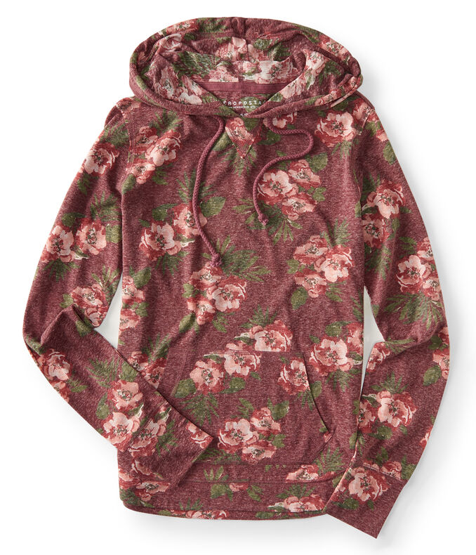 Roses Lightweight Pullover Hoodie