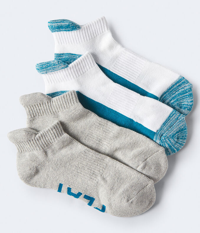 2-Pack Play Hard Athletic Socks