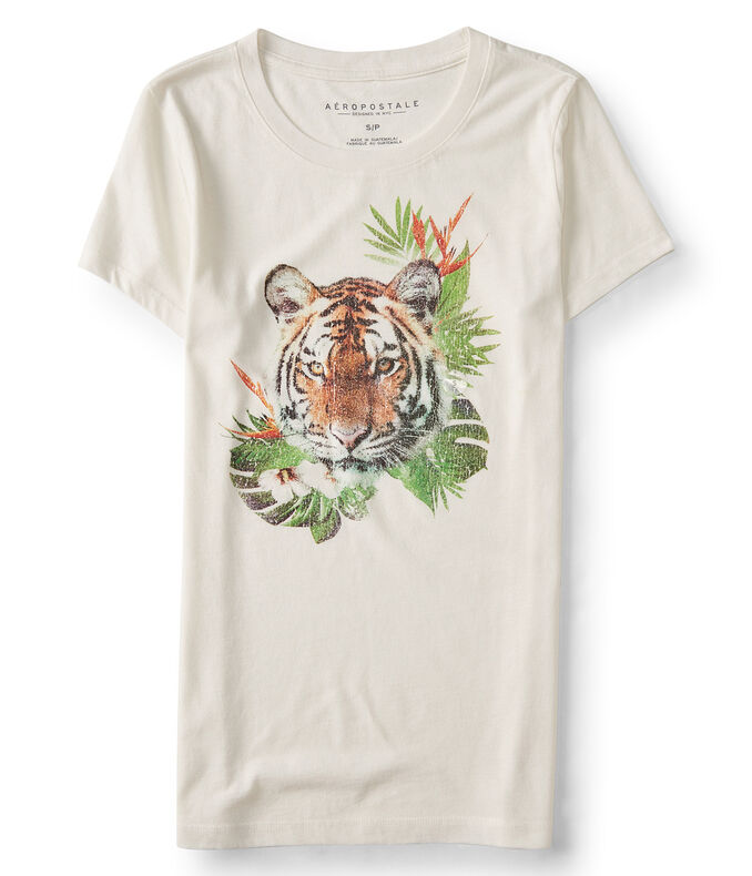 Tropical Tiger Graphic Tee