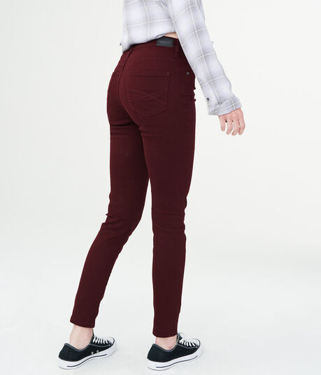 Seriously Stretchy Color Wash High-Waisted Jegging
