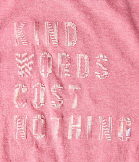 Free State Kind Words Graphic Tee