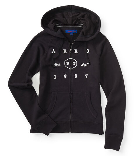 Aero 1987 Athletic Dept Full-Zip Hoodie