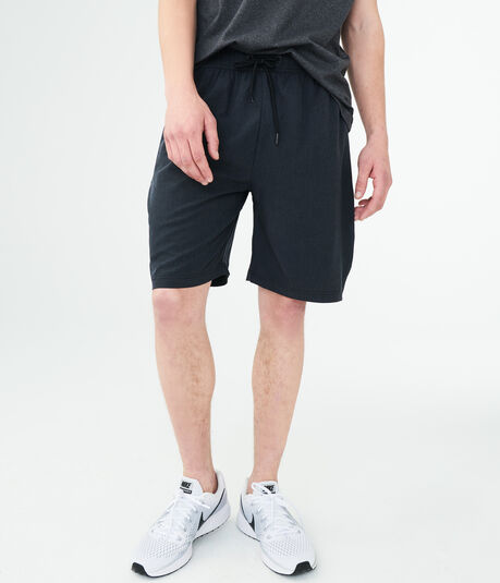 Solid Active Stretch Woven Shorts