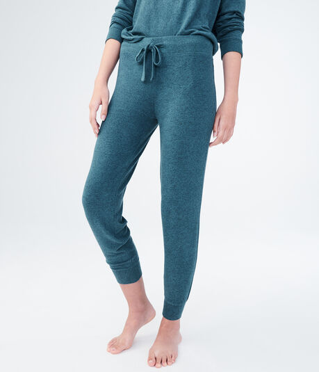 LLD Seriously Soft Heathered Jogger Sweatpants