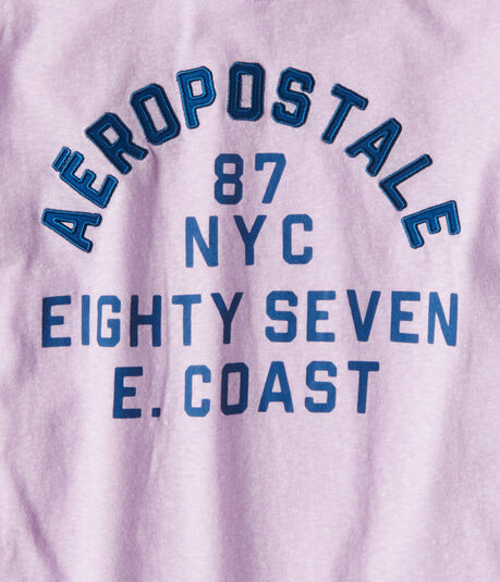 Eighty Seven NYC Relaxed Graphic Tee