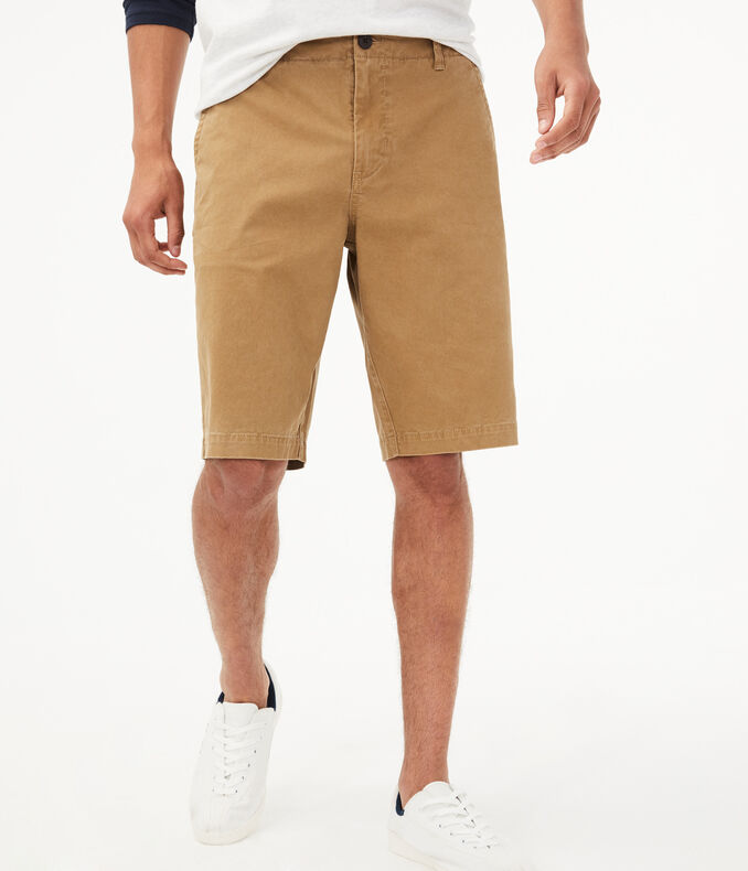 Longboard Stretch Flat-Front Shorts | Tuggl