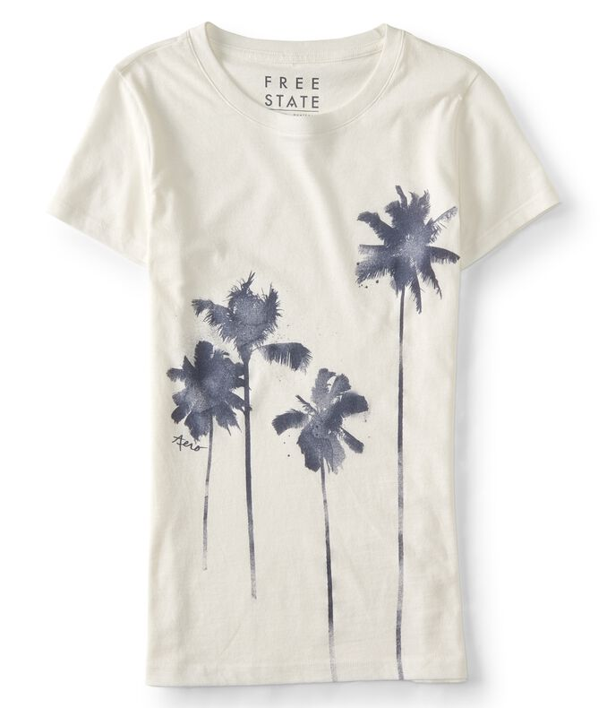 Free State Watercolor Palms Graphic Tee
