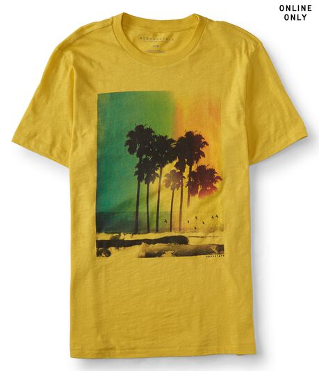Palm Trees Graphic Tee***