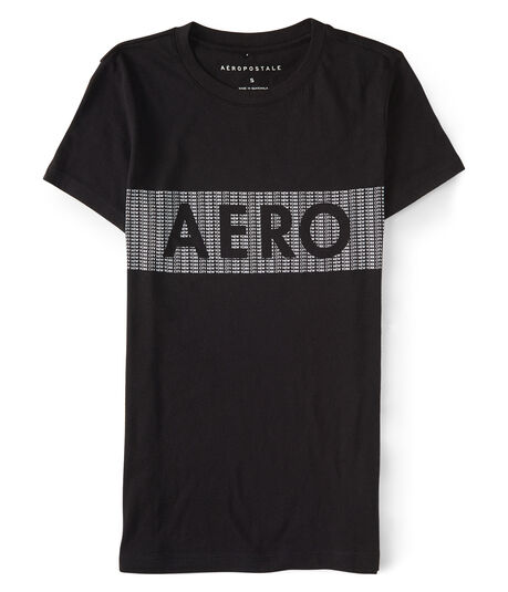 Final Sale - Aero Chest Stripe Graphic Tee
