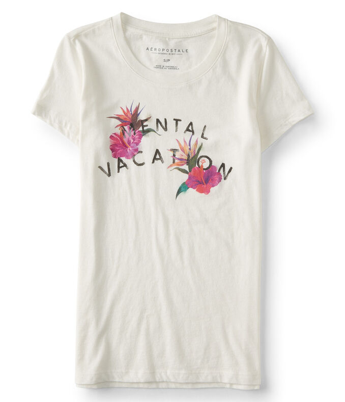 A Mental Vacation Graphic Tee