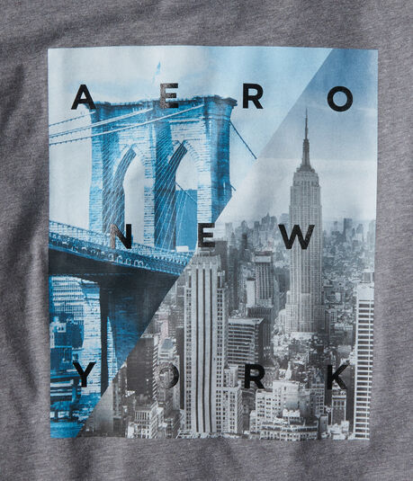 Aero New York Cityscape Graphic Tee