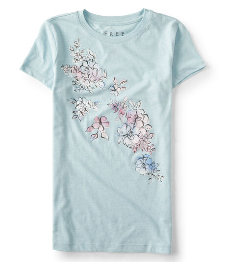 Free State Floral Graphic Tee