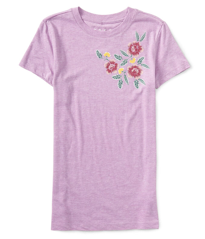 Free State Heathered Floral Graphic Tee