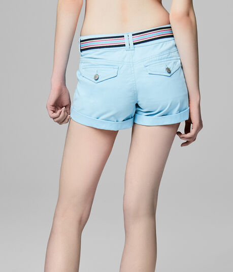 Final Sale -Prince & Fox Belted Beachcomber Twill Shorts