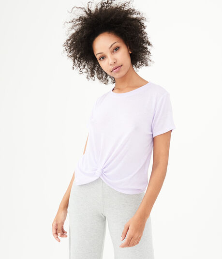 LLD Knot-Front Tee